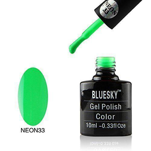 Bluesky Neon 33 Groovalicious UV/LED Gel Nail Soak Off Polish 10ml