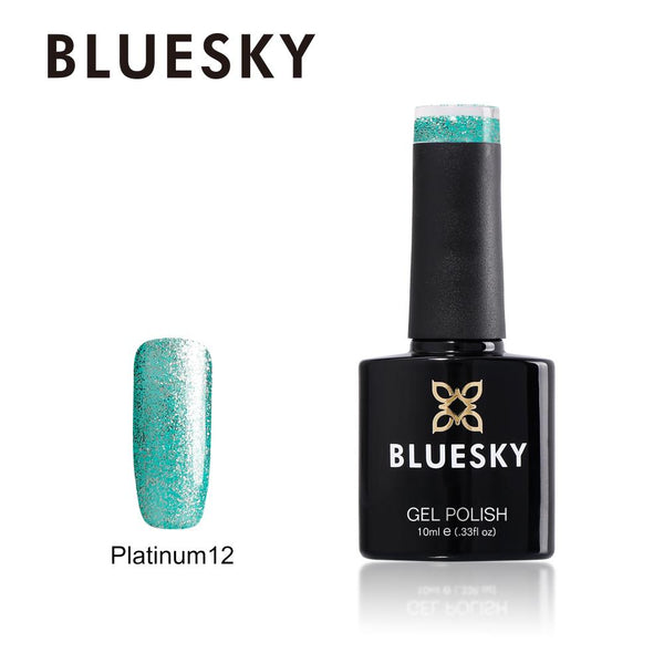 Bluesky Platinum 12 UV/LED Soak Off Gel Nail Polish 10ml