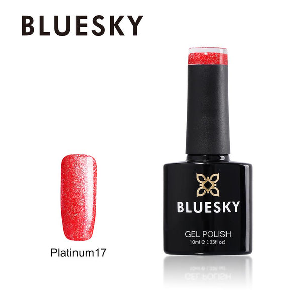 Bluesky Platinum 17 UV/LED Soak Off Gel Nail Polish 10ml
