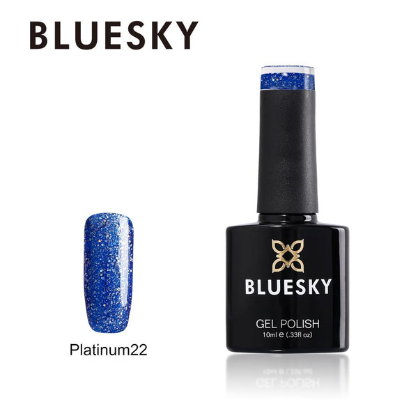 Bluesky Platinum 22 UV/LED Soak Off Gel Nail Polish 10ml
