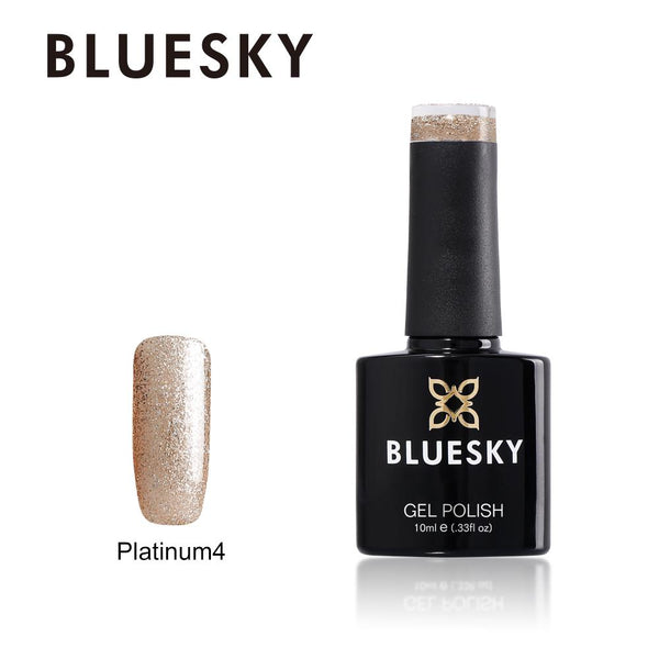 Bluesky Platinum 4 UV/LED Soak Off Gel Nail Polish 10ml