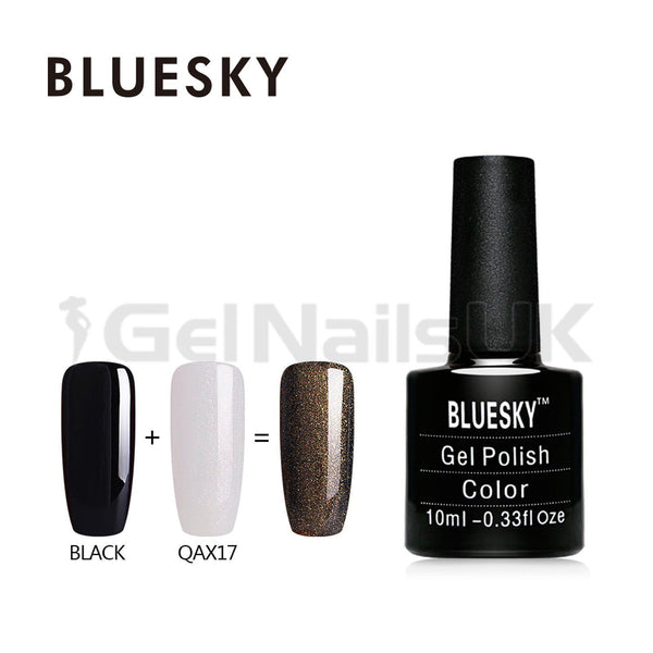 Bluesky QAX17 UV/LED Gel Nail Soak Off Polish 10ml