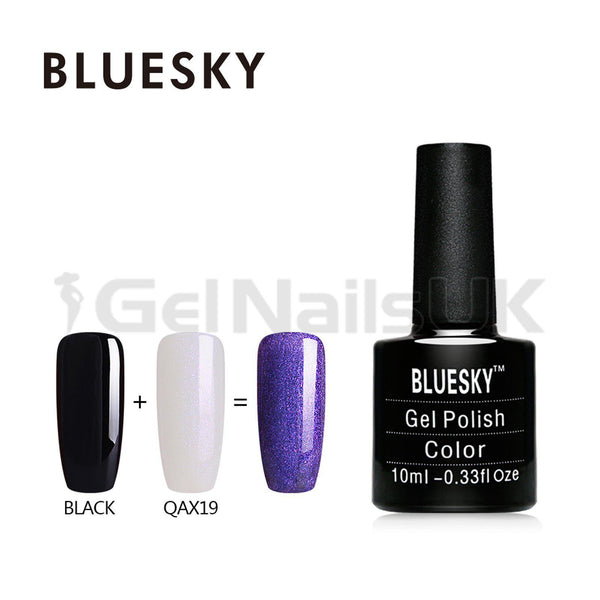 Bluesky QAX19 UV/LED Gel Nail Soak Off Polish 10ml