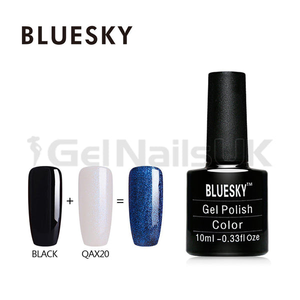 Bluesky QAX20 UV/LED Gel Nail Soak Off Polish 10ml