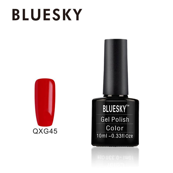 Bluesky QXG45 Classic Red UV/LED Soak Off Gel Nail Polish 10ml