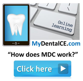 MyDentalCE com Home | Dental Online CE for DDS, RDH, DA