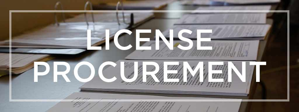 License Procurement