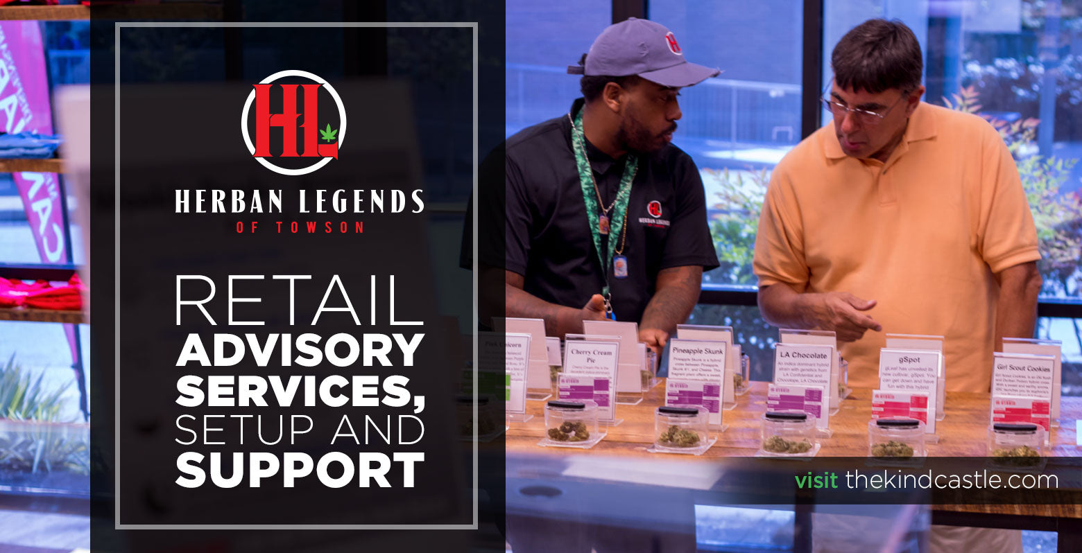 Herban Legends of Towson Retail Advisory Services Setup and Support
