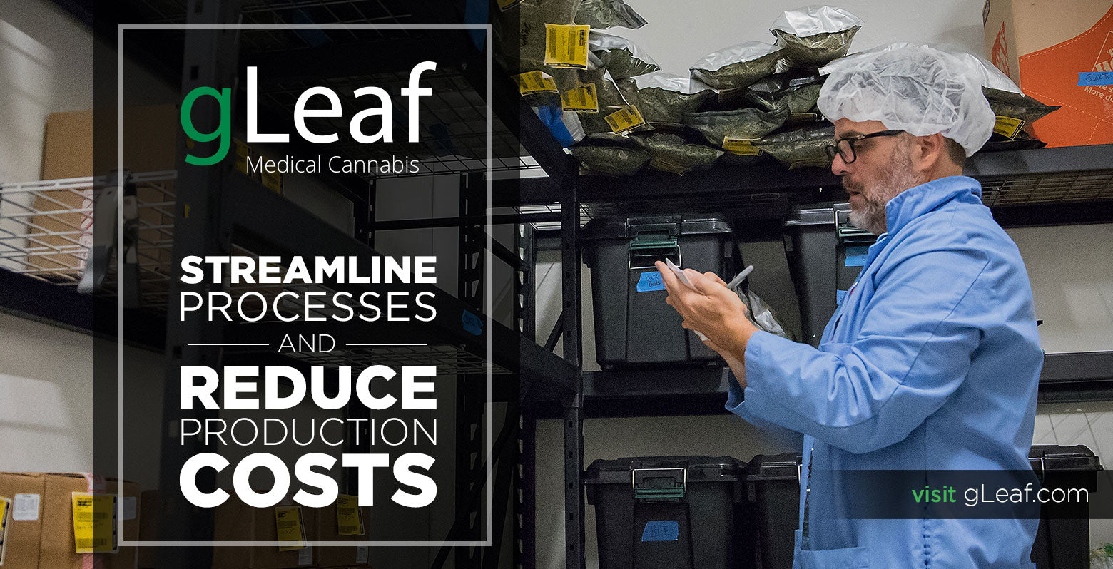 gLeaf Medical Cannabis Streamline Processes and Reduce Production Costs