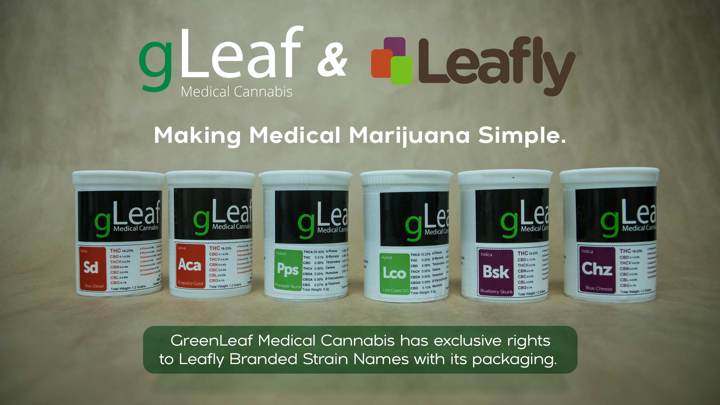 gLeaf and Leafly Partnership