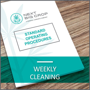 Weekly Cleaning D-CLN-SOP-002