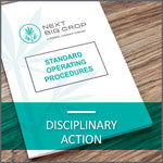 Disciplinary Action D-HR-SOP-004