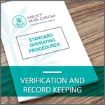 Verification and Record Keeping D-HR-SOP-009