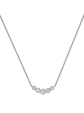 Load image into Gallery viewer, Cinq Necklace - Silver
