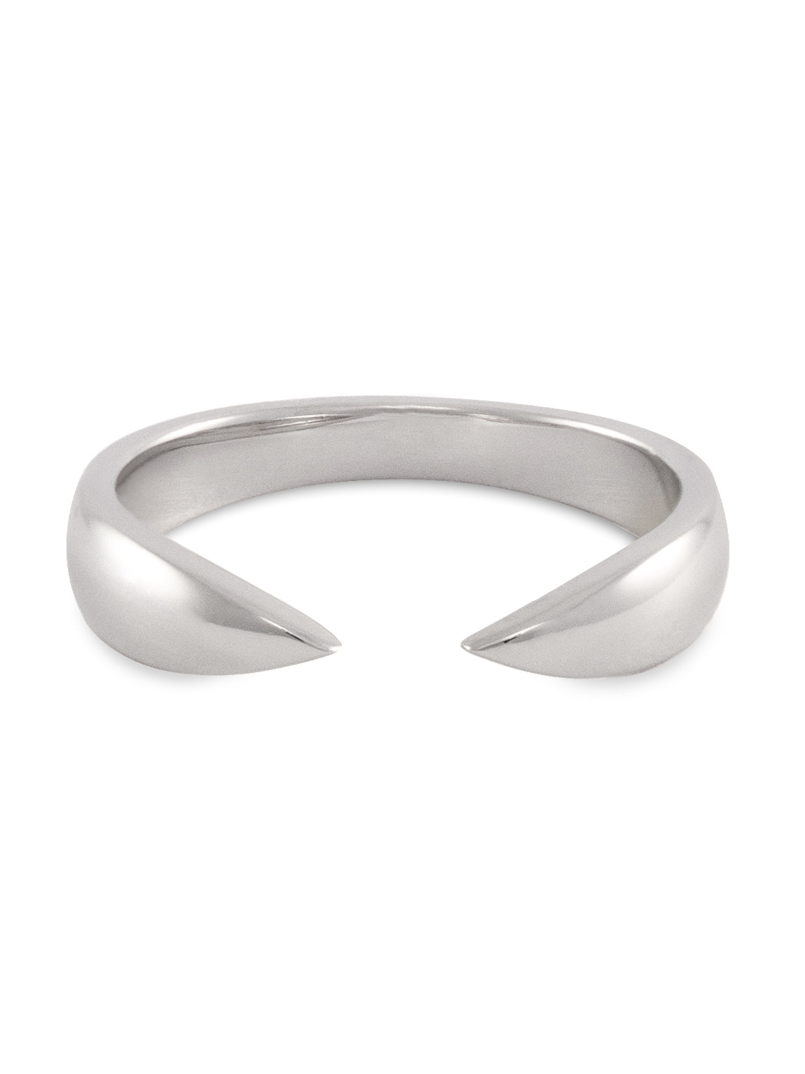 Silver Open Claw Ring