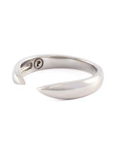Load image into Gallery viewer, Silver Open Claw Ring