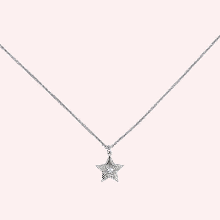 North Star Necklace - Silver