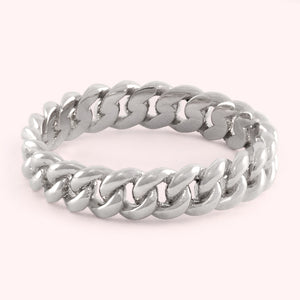 Silver Petite Chain Ring