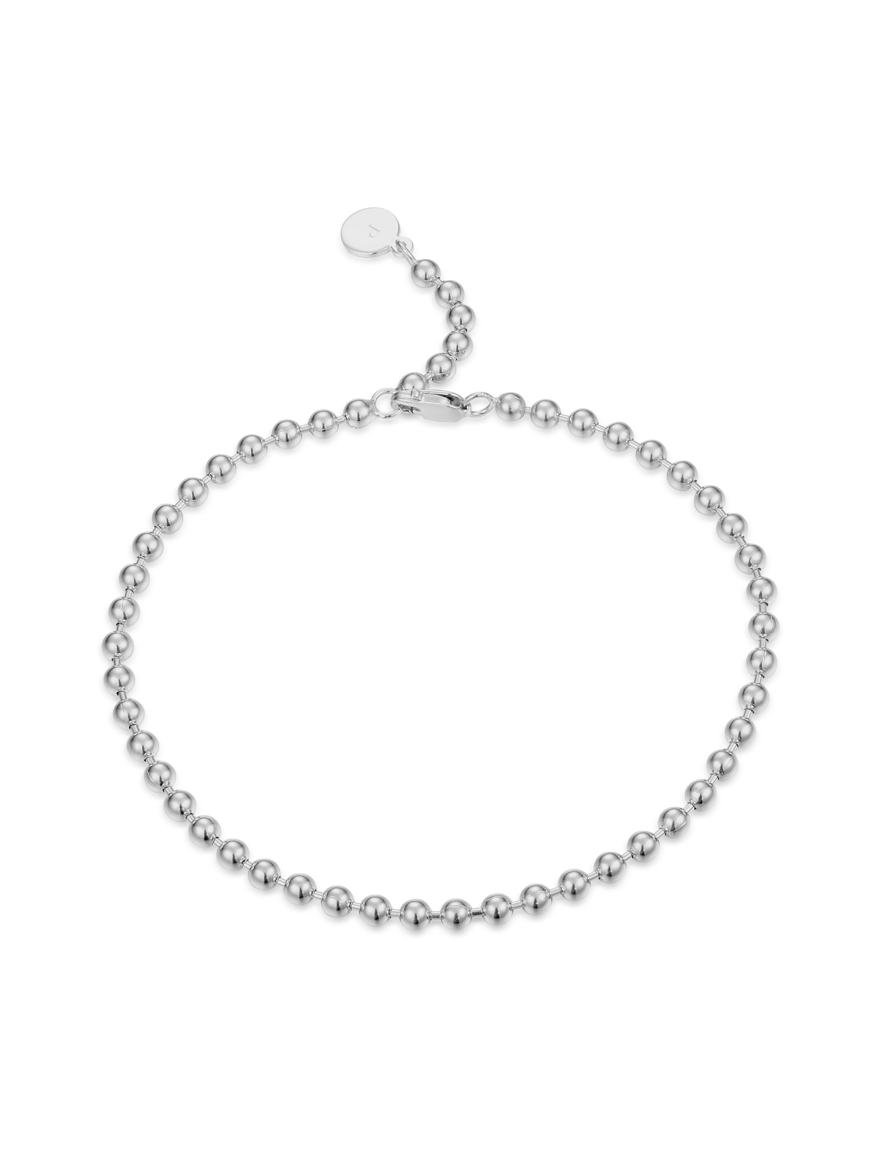 Silver Essential Ball Bracelet