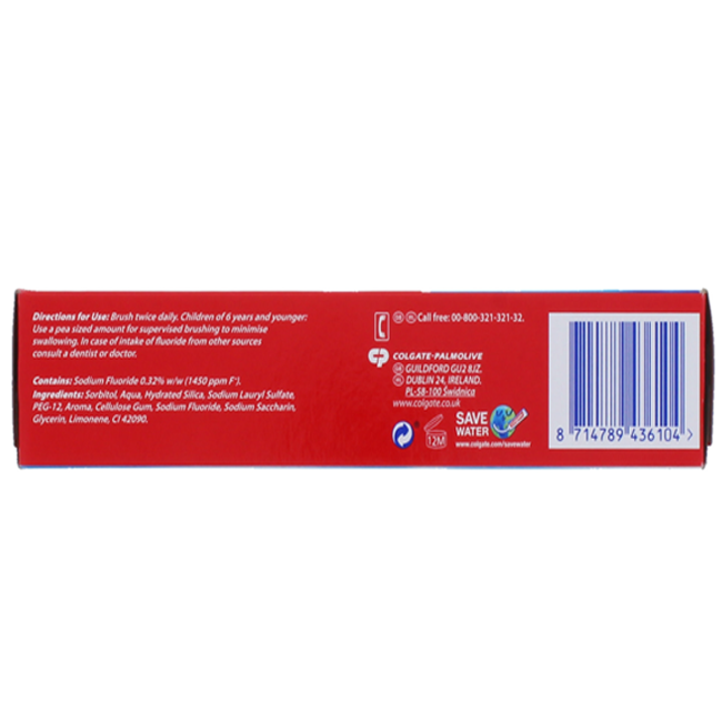 Colgate 100ML Toothpaste Fresh Gel