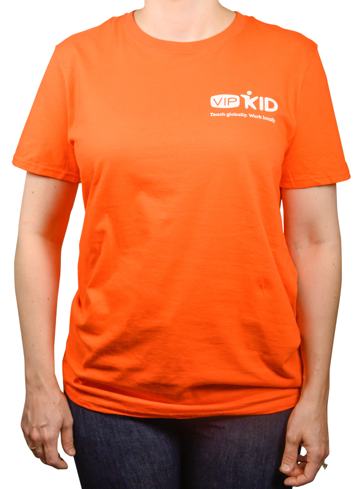 VIPKid Orange Teaching T-Shirt