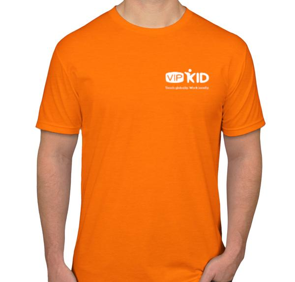 VIPKid Tangerine Teaching T-shirt