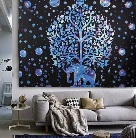 Bohemian Elephant Wall Decor