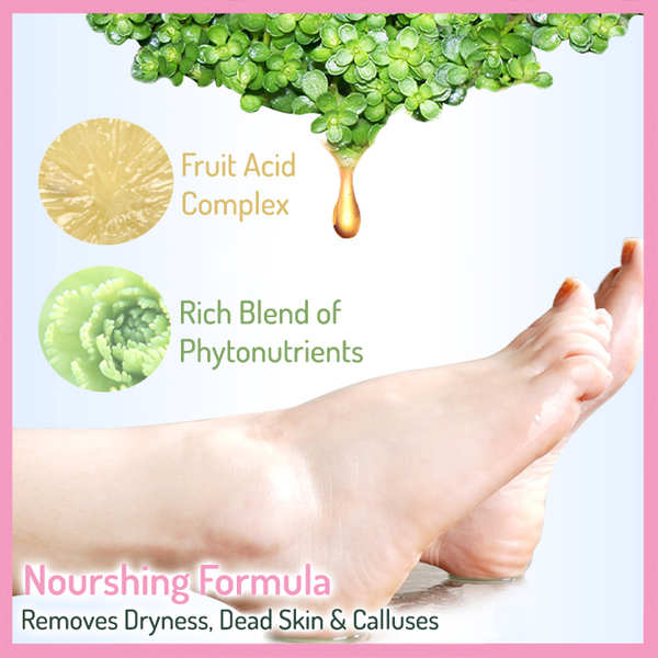 Peel-Off Feet Mask (3 Pairs) - Natural Ingredients
