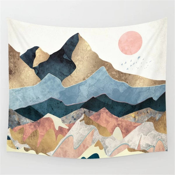 Mountains Tapestry