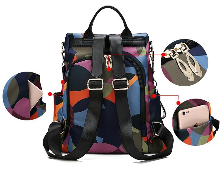 Women Anti-Theft & Waterproof Backpack