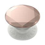 Rose Gold Metalizado Diamante, PopSockets
