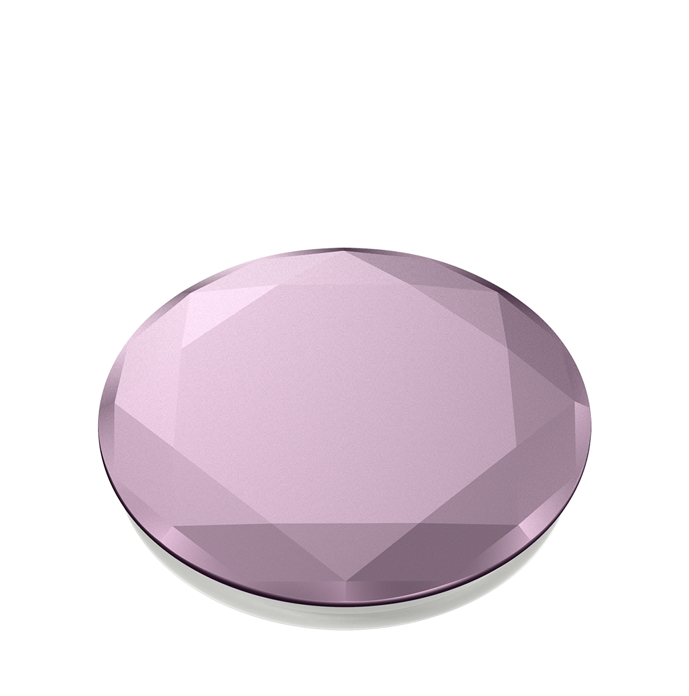 Diamante Metalizado Color Lila, PopSockets