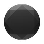 Diamante Metalizado Negro, PopSockets
