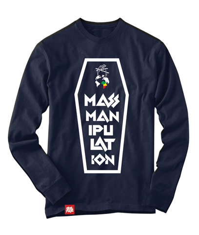 Navy Crypt Long Sleeve