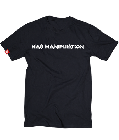 Black Mass Manipulation Tee