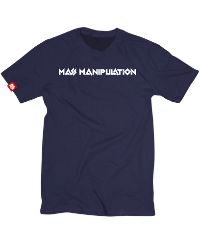 Navy Mass Manipulation Tee