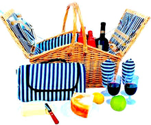 Grand Picnic Basket Set | 2 Person Service