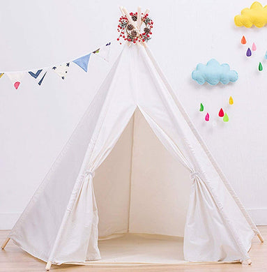Large Cotton Canvas Teepee Tent