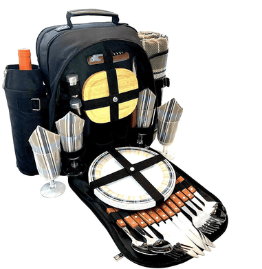 Arrow Picnic Backpack Set | 4 Person Service