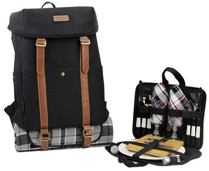 CALIFORNIA PICNIC CP Cooler Backpack Black