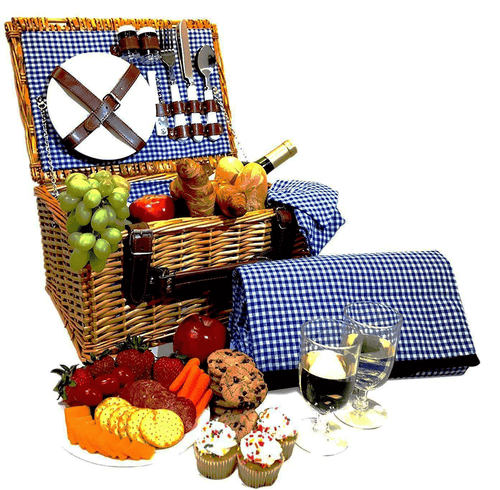 Alameda Picnic Basket Set | 2 Person Service