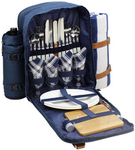 Artesia Picnic Backpack Set | 4 Person