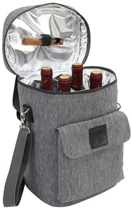 Ranger Wine Tote Grey | 4 Bottles