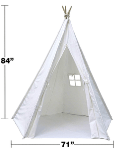 Large Canvas Teepee Tent 7 Ft.