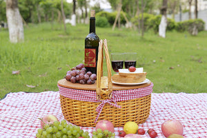 Laurel Woodtop Picnic Basket