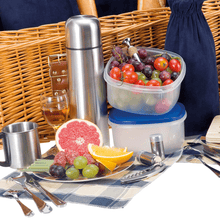 Marshall Picnic Basket an Coffee Set | 4 Person Service