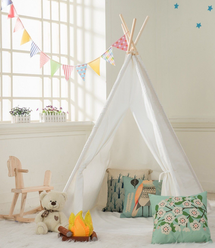 Cotton Canvas Teepee Tent 5 Ft.