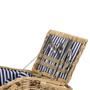 Grand Picnic Basket Set | 4 Person Service
