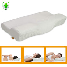 Ergonomic Memory Foam Neck Pillow for Sleeping
