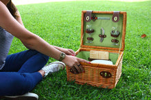 Beverly Picnic Wine Basket Set | 2 Person Service